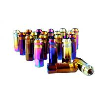 Buy cheap Alloy / Carbon / Stainless Steel Auto Lug Nuts For Rims 60mm , 12 Months Warranty from wholesalers