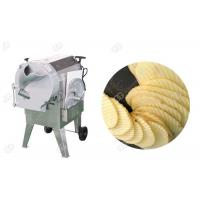 Buy cheap Corrugated Cucumber And Potato Slicer Machine Crinkle Chips  Easy Change Blade Henan GELGOOG from wholesalers