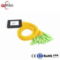 Buy cheap 1x32 PLC Fiber Optic Splitter Splice Pigtailed ABS Module 2.0mm SC/APC Single Mode from wholesalers