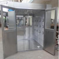 Buy cheap IOS 5 Stainless Steel Clean Room Air Shower Tunnel Equipment With Vertical Blowing product