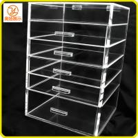 Buy cheap eco-friendly acrylic makeup organizer with 5 drawers from wholesalers