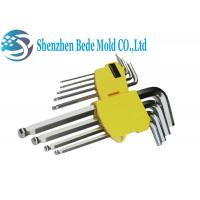 Buy cheap 9pcs Hex Key Wrench / Hexagon Socket Spanner Metric Ball End Super Length from wholesalers