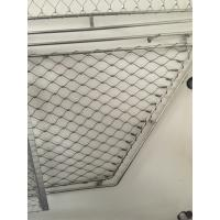 Buy cheap Anti Corrosive 304 Stainless Steel ferrule rope mesh Stair Netting Child SafetyProtection from wholesalers