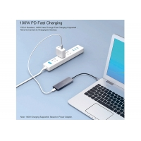 Buy cheap 100W PD 4 Port USB 2.0 USB Type C Docking Station With OTG Adapter Cable from wholesalers