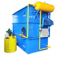 Buy cheap Horizontal Flow Dissolved Air Flotation Equipment Wastewater Treatment Equipment from wholesalers