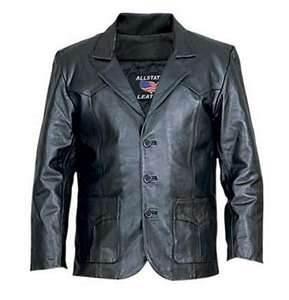 Buy cheap Custom Size:M Mens Stylish PU washed  italian Leather Jackets designer product