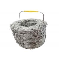 Buy cheap Hot - Dipped Galvanized Security Barbed Wire For Airport Prison Fence from wholesalers