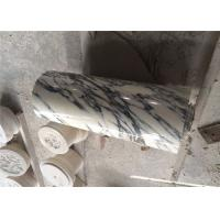 Buy cheap Arabescato Marble Natural Stone Marble For Prefabricated Big Round Column from wholesalers