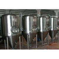 Buy cheap Stainless Steel Fermenter Beer Brewing Equipment Tanks System Full Jacket from wholesalers
