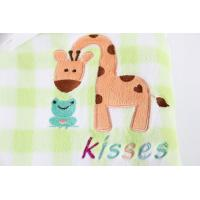Buy cheap flannel  Cute Baby Receiving Blankets Soft Touch Animal Printed Tear - Resistant from wholesalers