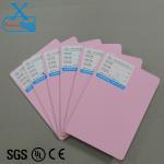 Buy cheap OEM custom color pvc foam sheet high density pvc foam board pink vinyl tile pink vinyl flooring colorful plastic board from wholesalers