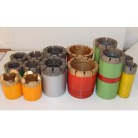 Buy cheap Impregnated Core Bits / Granite Core Drill Bits With Hard Matrix from wholesalers