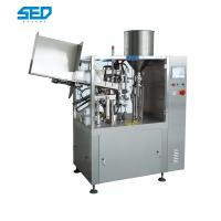 Buy cheap Plastic Tube Filling And Sealing Machine , Automatic Tube Filler And Sealer from wholesalers