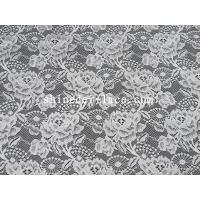Buy cheap 150cm width nylon lace fabric floral/special leaf pattern for women's garment SYD-0170 from wholesalers