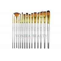 Buy cheap 15 Synthetic Short Handle Art Body Paint Brushes for Acrylic , Oil  Gouache  & Face Painting from wholesalers