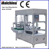 Buy cheap Tea High Speed Carton Packing Machine / Case Packer For Biscuit / Soap / Bottle from wholesalers