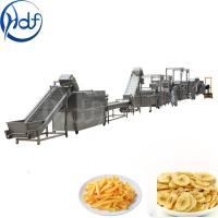 Buy cheap 500kg / H Capacity Banana Chips Making Machine , Continuous Crisps Making Machine from wholesalers