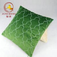 Buy cheap Wholesale solid velvet fabric cushion home decoration velvet quilted cushion cover from wholesalers