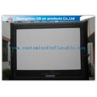 Buy cheap 6 X 5m Inflatable Cinema Screen Projection Screen Rentals For Film Show product