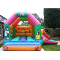 Buy cheap Custom Cartoon Inflatable Combo Tom And Jerry Bouncy Castle For Rent from wholesalers