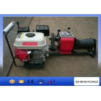 Buy cheap Wire Rope Pulling Portable Gas Powered Winch 1 Ton With Gasoline Engine from wholesalers