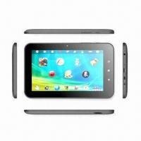 Buy cheap 7-inch Tablet PC, AllWinner Boxchip A10 Cortex A8 1.2 to 1.5GHz, 512/1GB DDR3, 4GB/8GB Storage from wholesalers