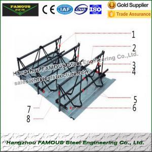 China Performance Reinforcing Steel Rebar Truss Floor Deck Sheet For Building Foundation on sale