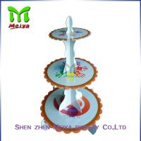 Buy cheap Single tiers Cardboard Cake Stands For Decration Christmas Party from wholesalers