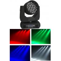Buy cheap Mac Aura LED Zoom Moving Head Light 19PCS Nominal 15W LED 4 In 1 Lamp from wholesalers