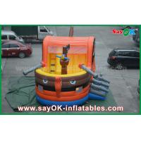 Buy cheap 0.55 PVC Pirate Boat Bounce Inflatable Jumping Castle For Kids SGS Certification from wholesalers