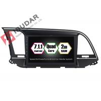 Buy cheap 9 Inch All Touch Panel Android Car Entertainment System Car Stereo For Hyundai Elantra  2014 from wholesalers