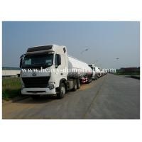 Buy cheap 3 Axles 45000 liters 5 compartments fuel tanker trailer for oil transportation for spare parts free from wholesalers