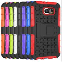 Buy cheap Hybrid PC TPU Shock Proof Protective Phone Case For Samsung Galaxy S6 from wholesalers