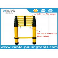 Buy cheap FRP Insulation Ladder Safety Tools Multi - Section Insulated Telescopic Ladder from wholesalers