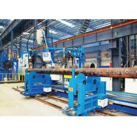 Buy cheap TIG / Fine Wire SAW Header Nozzle Welding Machine For Orthogonal Joint from wholesalers