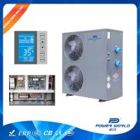 Buy cheap Solar Competible 30kw Swimming Pool Heat Pump Water Heater Thermostat System Titanium In PVC from wholesalers