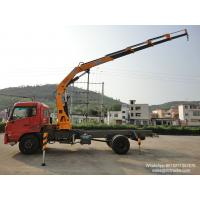 Buy cheap Dongfeng truck crane 10 Tons Crane Truck 16T GW sale  low price  WhatsApp:8615271357675 from wholesalers