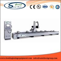 Buy cheap Industry Aluminium Window Machinery CNC Milling Center 165mm Max Cutter Length from wholesalers