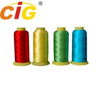 Buy cheap Bright Color 100% Rayon Embroidery Thread 150D/2 & 210D/2 For Garment / Bedding product
