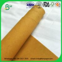 Washable Kraft Paper Fabric Roll Eco-friendly Water Resistance Reusable Durable
