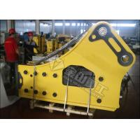 Side Type Hydraulic Rock Breaker , Hydraulic Breaker HammerFor 50 Ton Excavator Caterpillar 350