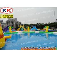 Buy cheap Slide Toys Inflatable Water Parks Jungle Swimming Pool For Child from wholesalers