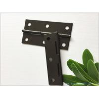 Buy cheap Brown Color Heavy Duty Gate Hinges Fixed Pin Water Proof Small Size from wholesalers