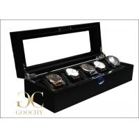 Buy cheap Homemade Silsuede Interior Wooden Watch Display Cases For Christmas Gifts from wholesalers