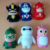 Buy cheap pvc/rubber/silicon/silicone novel cartoon power banks from wholesalers