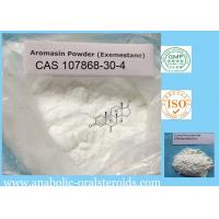 Buy cheap Exemestane / Aromasin Anti Estrogen Steroids To Breast Cancer 107868-30-4 from wholesalers