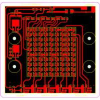 Buy cheap High Frequency PCB for LED Driver PCB with Simple Printed Circuit Board from wholesalers