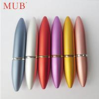 Buy cheap Colorful 6ml bullet lipstick aluminum perfume spray bottles perfume pen product