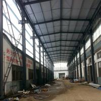 Buy cheap Prefabricated Structural Steel Plant , Curved Roof Building Steel Structure Shed product
