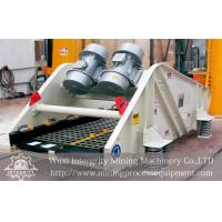 Buy cheap Mining Dewatering Vibrating Screen For Iron Ore Processing Plant from wholesalers
